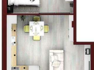 21 800 - спец цена на двухкомнатную 45 кв.м. с автономкой в новострое