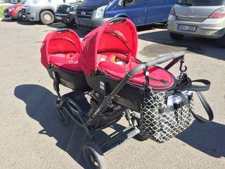 ABC Design Zoom - carucior gemeni / коляска для близнецов, 3 in 1