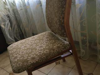 2 scaune din lemn natural, în stare foarte bună, stabile, speteaza foarte comodă, 1400 lei ambele. O