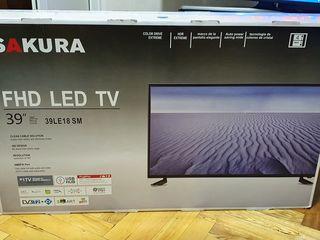 Новый Телевизор Sakura 39d. LED TV Full HD. Диагональ 98см. Гарантия 2 года Вомва