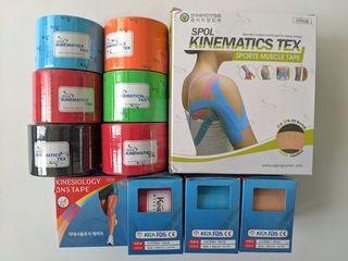 Kinesio tape. Лечение травм, снятие боли и использование в косметологии.