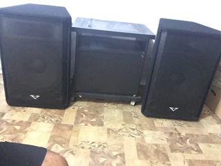 Boxe la 15 D  ,,M-Voice'' 2 cate 1000 W  , 250 Euro  -   Perechea !!!l