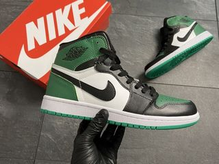Nike Air Jordan 1 Retro Green Black Unisex