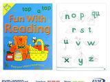 Книга раскраска   1301  3 Пропись English 3 5лет синяя fun with reading GA3127 А4