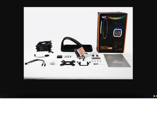 AIGO водяного охлаждения DT240 кулер с RGB