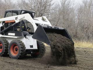 Услги мини трактор Бобкет Servicii Bobcat de calitate