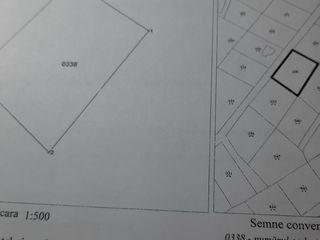 Уч-к nr.64  пл.6,78 соток в Î.P. Mușcata, по трасе Келтуитор-Тохатин, 3 км. от Кишинэу