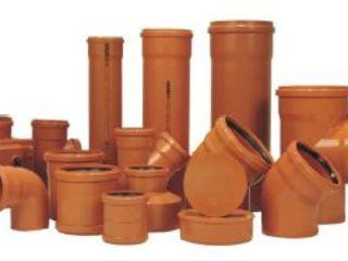 Канализационные трубы и фитинги для наружной канализации (Германия)