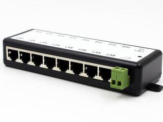 PoE-инжектор Fast Ethernet на 8 портов.