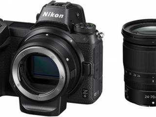 Фотоаппарат системный Nikon Z6 + 24-70mm f4 + FTZ Adapter Kit