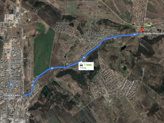 Lot, com.Budesti, I.P.Poligrafist 7 km de la Chisinau