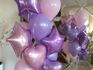Baloane cu heliu de la 16 lei! Шары с гелием от 16 лей!Flori din baloane de la 9 lei/buc!