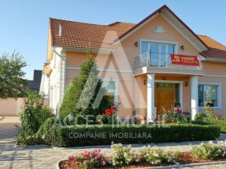 Cricova, str. D. Cantemir, Casă de vis, 2 nivele, 170 m2, 20 ari, Euroreparație!