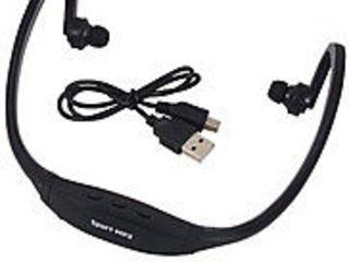 Спортивный плеер, Sport MP3 плеер наушники, microSD