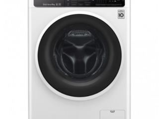 Стиральная машина LG F4H6VS0E  автоматическая/ 9 кг/ белый