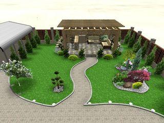 Проектирование по индивидуальному заказу 3D Ландшафтный дизайн