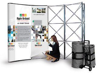 Выставочный стенд Pop Up,Brand wall, Press wall.