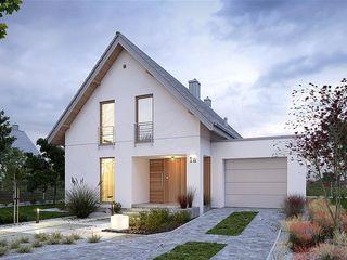 Новый современный двухэтажный дом с гаражом