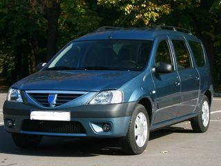 Auto în chirie. Dacia Logan