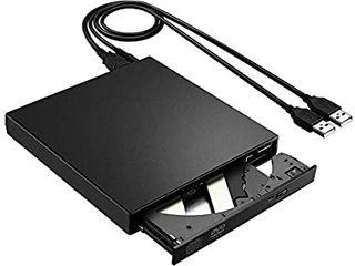 DVD-RW/R Drive (black) slim external USB 2.0