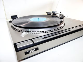 JVC L-A55 Direct Drive Semi-Automatic Turntable Made in Japan