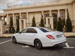 Reducere/скидка! 3 august-28 august: Mercedes S Class W222 AMG S65 - 99 €/zi(день) & 20 €/ora(час)
