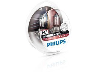 Philips h7 visionplus +60% 12v 55w px26d  ( set – 2 bucăți)