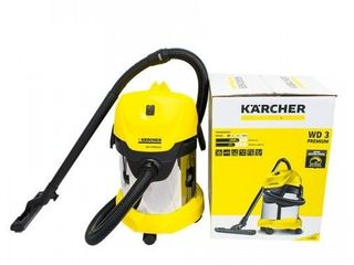 Пылесос Karcher WD3 Premium/aspirator/livrare gratuita+garantie/2090 lei/original