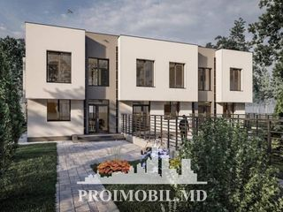 Ialoveni! Townhouse, 2 nivele, 3 camere cu living! 154 mp!