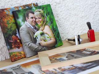 Печать на фотобумаге и на холсте для интерьера