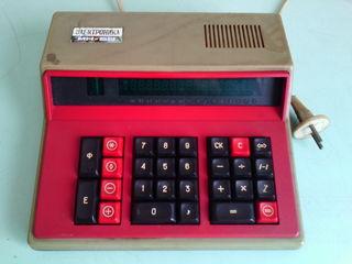 Калькуляторы СССР. Электроника МК-59, электроника Б3-14.