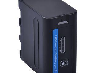 Sony NP-F970Pro 7.2V (7200mAh), Batmax - 39 USD, Sony NP-F770 - 24 USD, Sony NP-F570 - 14 USD