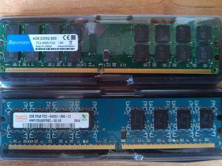 Память для компьютера DDR2 4Gb (AMD) - 199 лей DDR2 2 Gb - 119 лей DDR2 1Gb по 49 лей