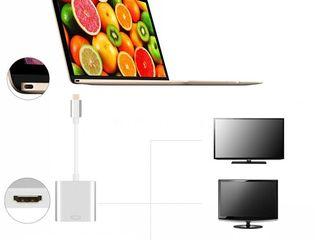 Кабель-переходник для Macbook  USB type C - HDMI!