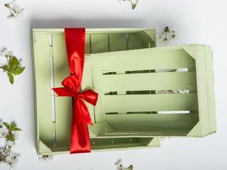 Lădiță/cutie pentru cadouri de Paști !