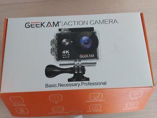 geekam action camera 4k--2600 lei