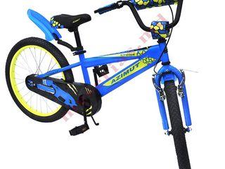 Велосипед двухколесный подростковыйAzimut Stone с 20 дюймовыми колесами