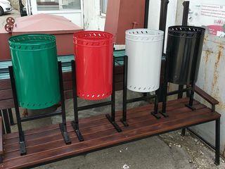 Urne și tomberoane din metal pentru deșeuri/металлические урны и контейнеры для мусора.