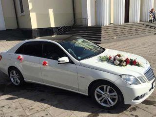 Chirie auto pentru nunta!!! Mercedes E = 79€/zi, Mercedes S = 109€/zi
