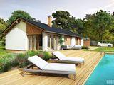 Super ofertă proiect gratuit! Casă din cotilet eficientă termic cu design modern.