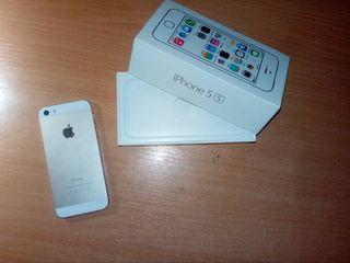 iPhone 5S Gold 16Gb newerlock full complet / schimb pe 6s-6plus