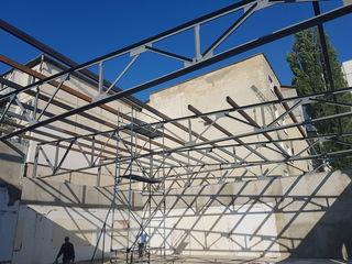 Склады - строим, перекрываем. Металлические навесы (любые размеры)