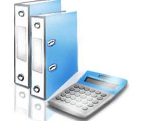 Servicii:evidenta contabila, fiscala, restabilirea contabilitatii, consultanta. бухгалтерские услуги