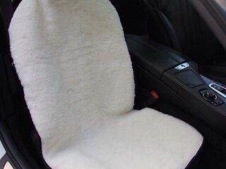 Накидка в автомобиль из натуральной овчины