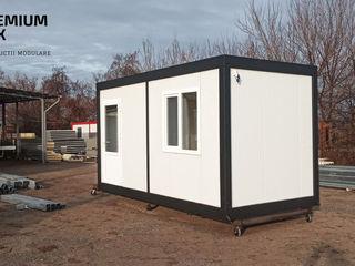 Construcții modulare pentru vile, pază, birouri, magazine, ateliere