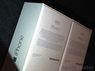 Коробка от iphone 7 plus silver 256gb