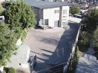 Ofer spatii in chirie sub depozit, de la 40 la 1000 m2, in Buiucani, teren ingradit, paza