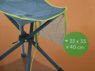 Scaun absolut nou, este trainic și stabil, e bun pentru odihnă în ogradă sau la aer liber, frigărui,