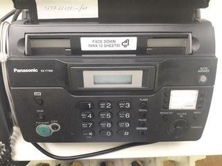 Fax în stare foarte bună PanasonicKX-FT932