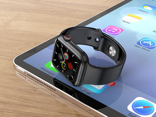 Hoco ga09 smart watch 1:1 apple watch 44mm + încărcător wireless inclus în set + [garanție]